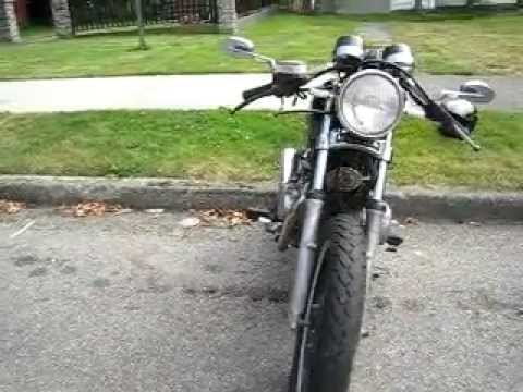 rat city bikes honda cm400 t cafe racer - youtube