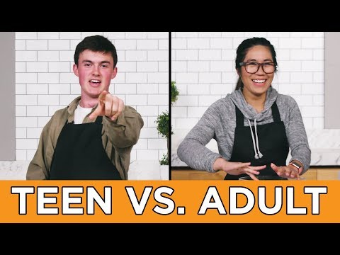 Teen Vs. Adult: Burger Recipe Challenge