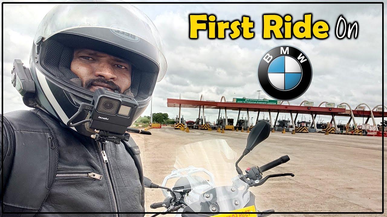 దుమ్ము దులిపేశాం| First Ride on My BMW Bike| Telugu MotoVlogs | Rider Surender Reddy