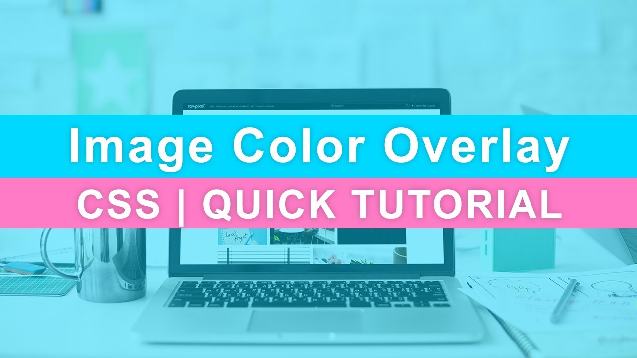 Background image opacity without affecting text - Css Background Image Color Overlay Color Filter Quick Tutorial