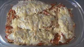 Простой и быстрый рецепт рыбы с овощами в духовке