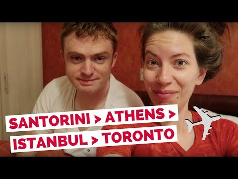 Our Trip to Europe is Over! Greece to Canada travel vlog
