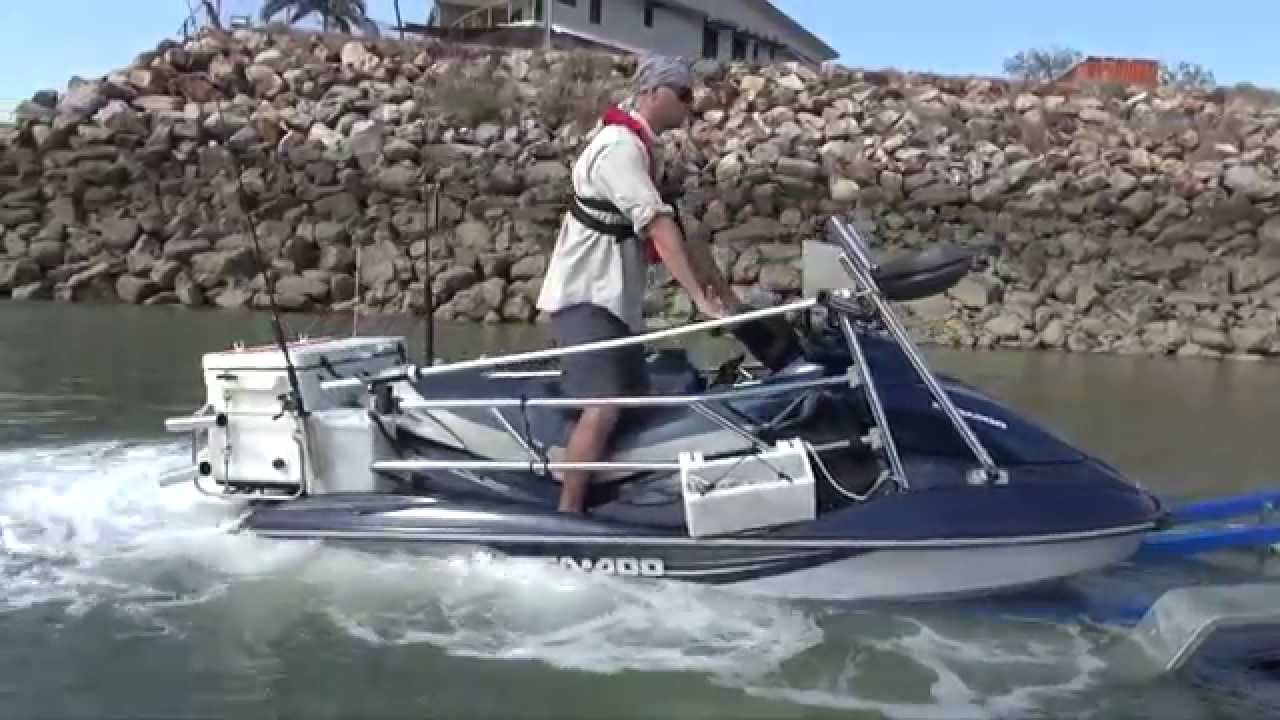 Jetski fishing nt youtube for Best jet ski for fishing