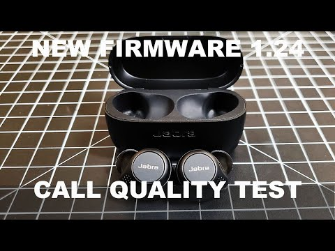 NEW Jabra Elite 75T Firmware 1.24 Did the call quality improve?