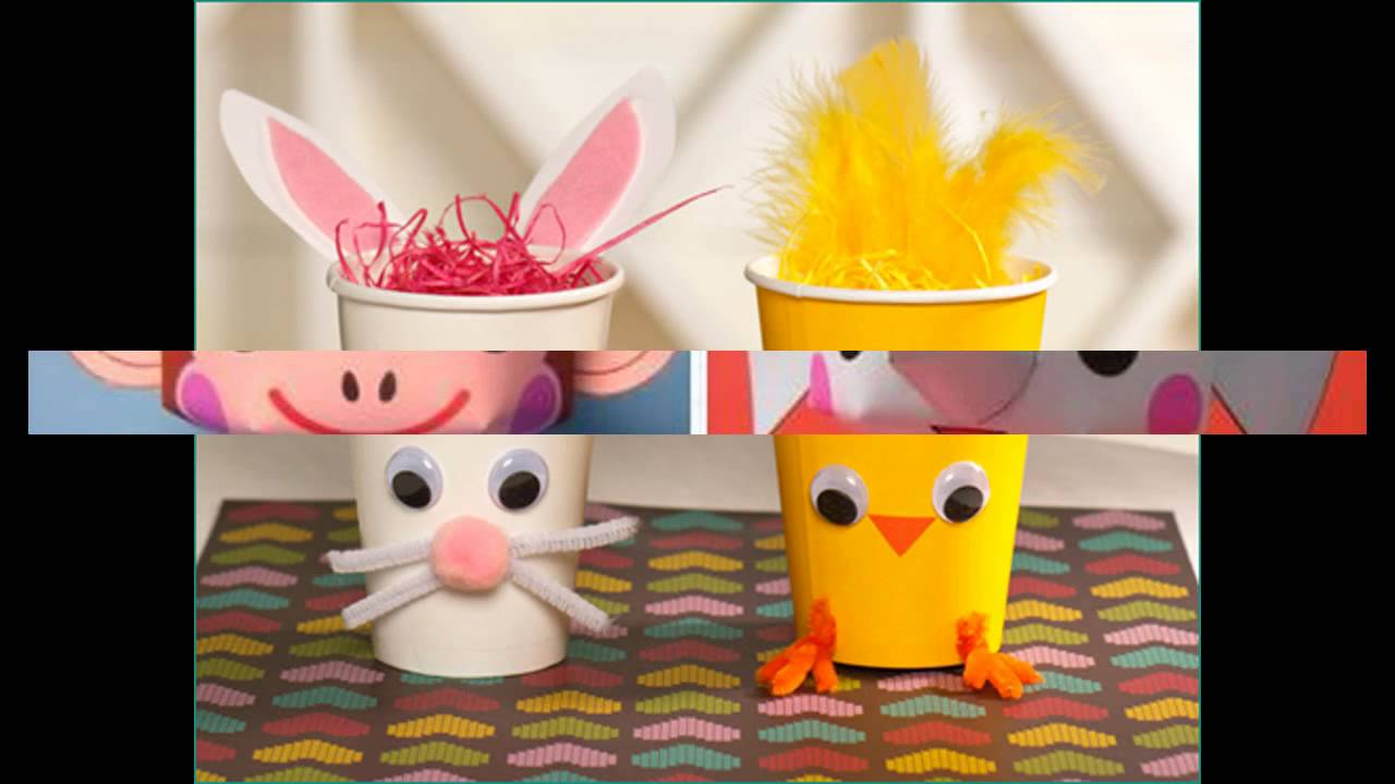 Paper cup crafts ideas youtube for Easy wealth out of waste