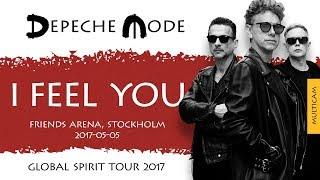 Download Depeche Mode - I Feel You (Multicam)(Global Spirit Tour 2017, Stockholm) (2017-05-05) MP3 song and Music Video