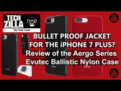 iPhone 7 Plus Evutec Aergo Ballistic Nylon Case Review