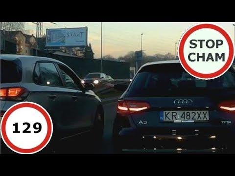 Stop Cham #129 – Niebezpieczne i chamskie sytuacje na drogach