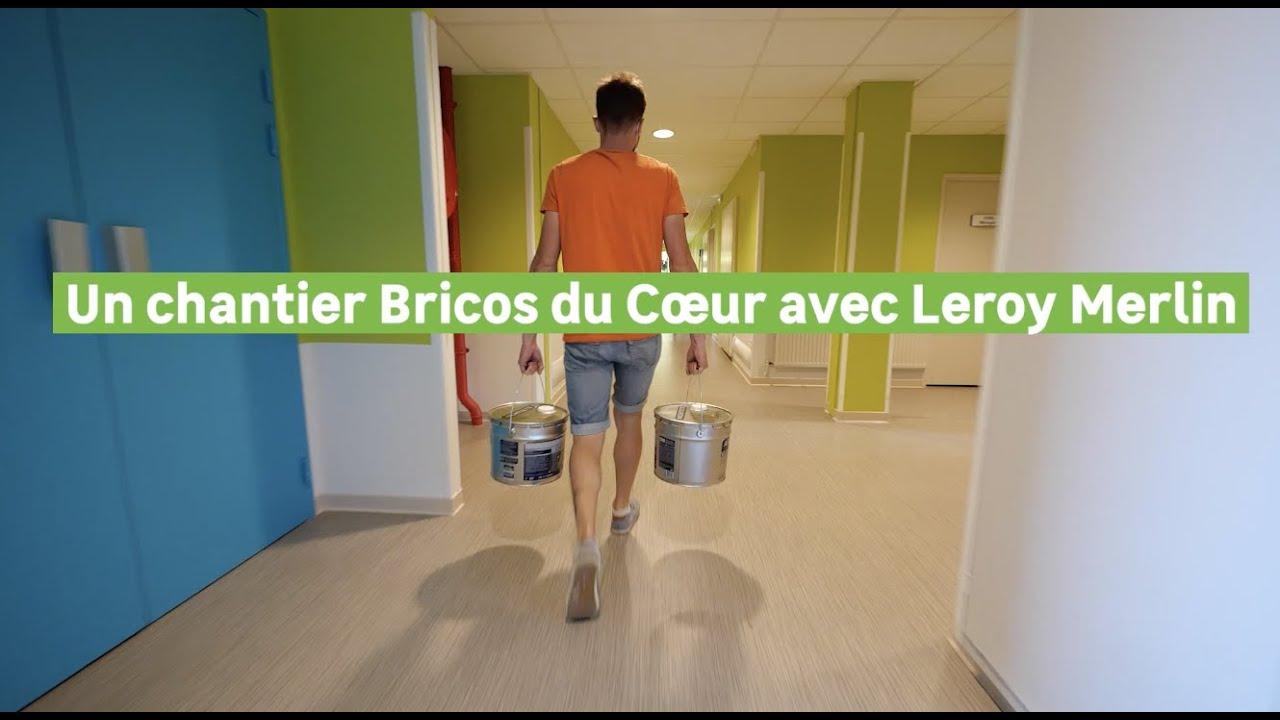 Helloflo - Un chantier Bricos du Coeur avec Leroy Merlin 85317