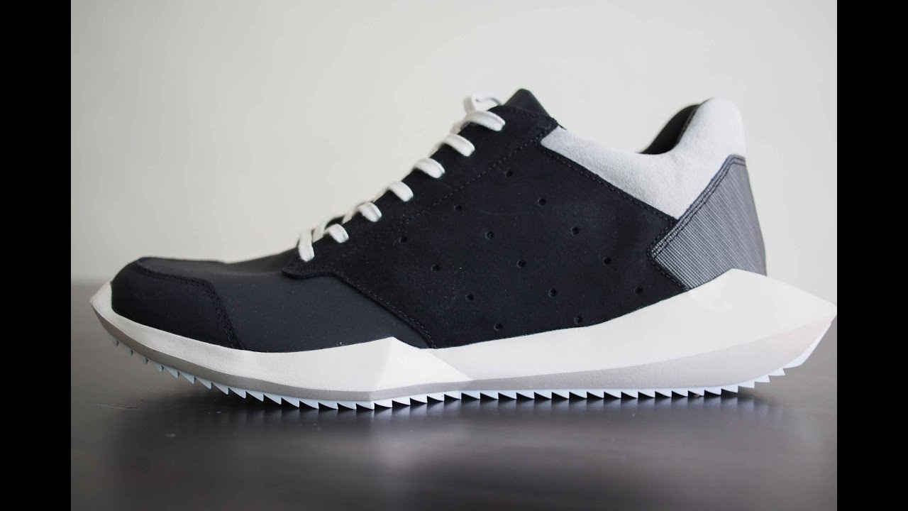 4a76d14f3eb5 Futuremade-小屁孩「Adidas Rick Owens Tech Runner 2」 - YouTube
