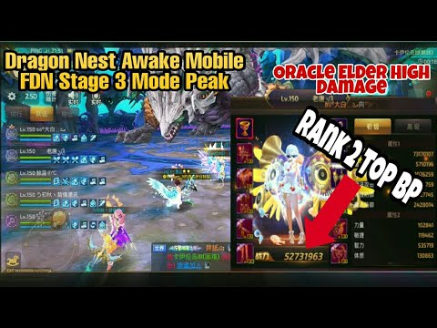 Party FDN With Player RANK 2 TOP BP Dragon Nest Awake Mobile