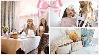 VLOG: i'm vegan again, vintage shopping, girly SLEEPOVER, & more | fancy vlogs