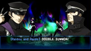 Shin Megami Tensei Devil Summoner Soul Hackers FINAL Boss Raidou Kuzunoha [HARD]
