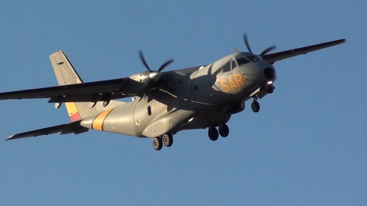 Spain Air Force Casa Cn 235 100 Vigma T 19b 06 Sar Landing Malaga Lemg