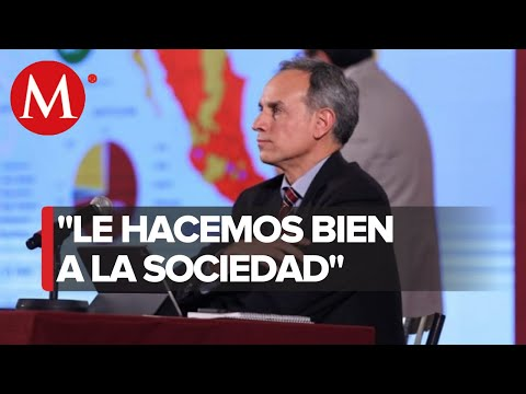 """Quédate en casa""; mensaje de Hugo López-Gatell"