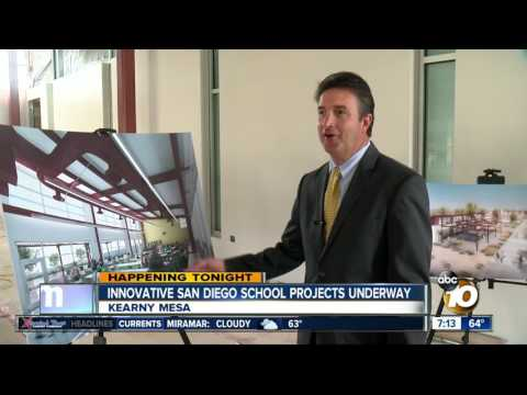 Innovative San Diego school projects underway