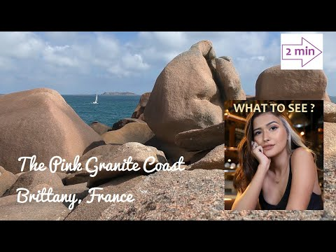 WHAT TO SEE IN The Pink Granite Coast, Brittany, France. (2 min. in Europe Collection)