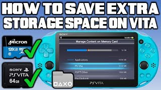 Get Back Storage Space On PS Vita! (Delete Corrupt & Hidden Files)