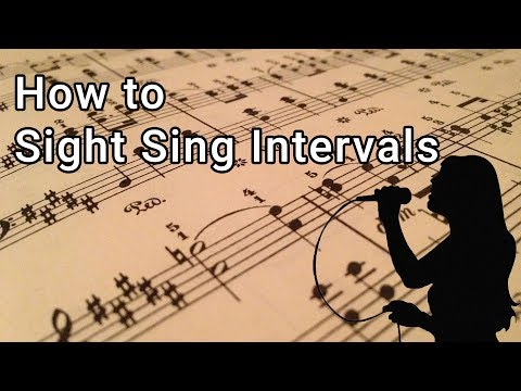 How to Sight Sing Intervals - Music Lessons