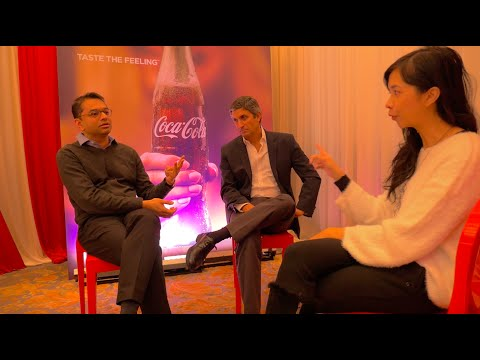 Interview with Shakir Moin and Rodolfo Encheverria of Coca-Cola