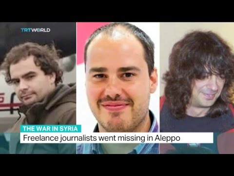 Three kidnapped Spanish journalists freed, Zeina Awad reports