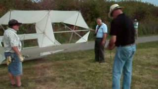 Scott Skinner Assembles And Flys A Lindenburg Weather Box Kite