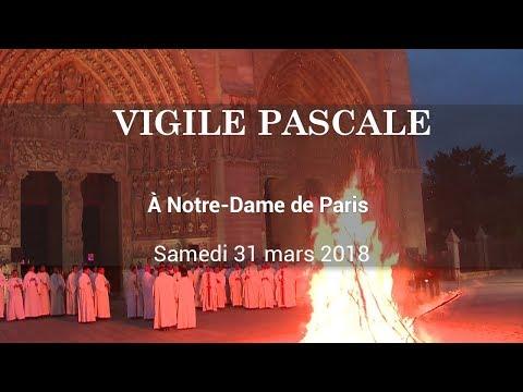 Vigile Pascale à Notre-Dame de Paris
