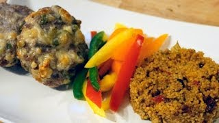 Healthy Mexican Cheese And Jalapeno Beef Burgers | Cutandjacked.com