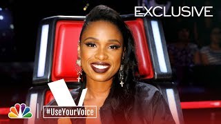 The Voice 2018 - Davon Fleming on Jennifer Hudson (#UseYourVoice)