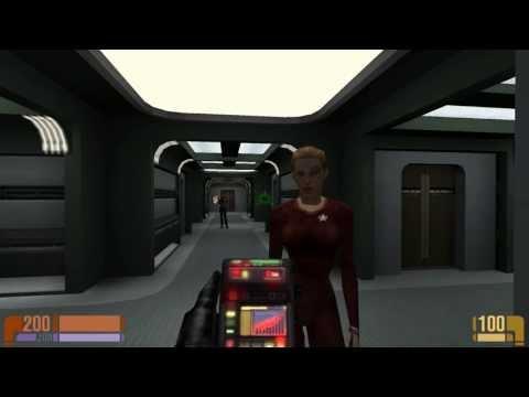Star Trek Voyager: Elite Force Virtual Voyager Complete Walkthrough (1080p FULL HD)