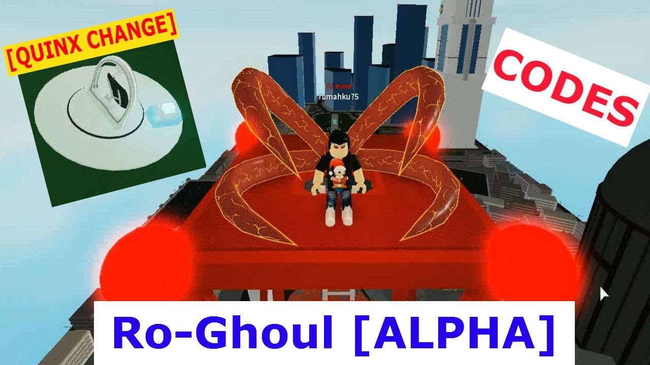 Quinx Change Ro Ghoul Alpha Roblox Quinx Change Ro Ghoul Alpha Roblox 4 Codes March 2020 Youtube