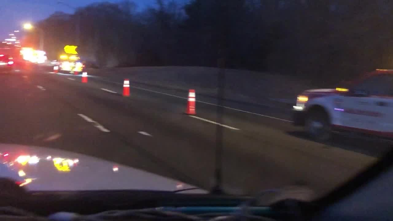 Fatal truck accident causes heavy delays on I-95 south in Milford