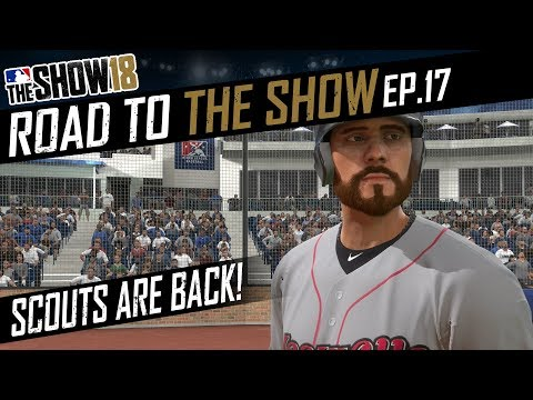 Scouts Are Back! Do We Get The Call Up? MLB The Show 18 Road To The Show Gameplay EP:17