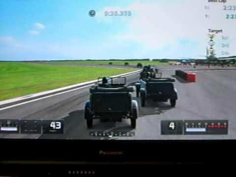 Gran Turismo 5 Top Gear Race Track - Kubelwagen Challenge