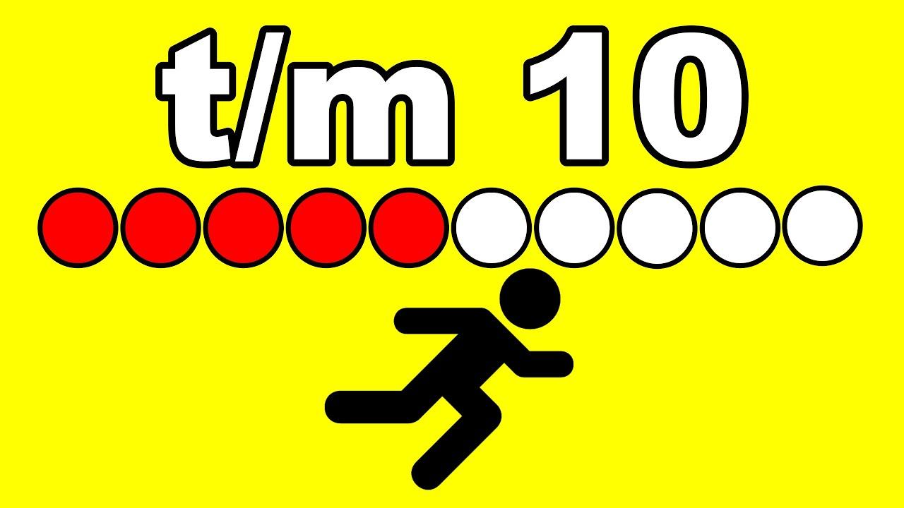 GETALBEGRIP T/M 10 - REKENEN met meester Richard || getalbeeld voor GROEP 1