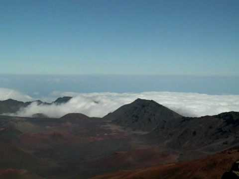 Cloud at Haleakalā, Maui