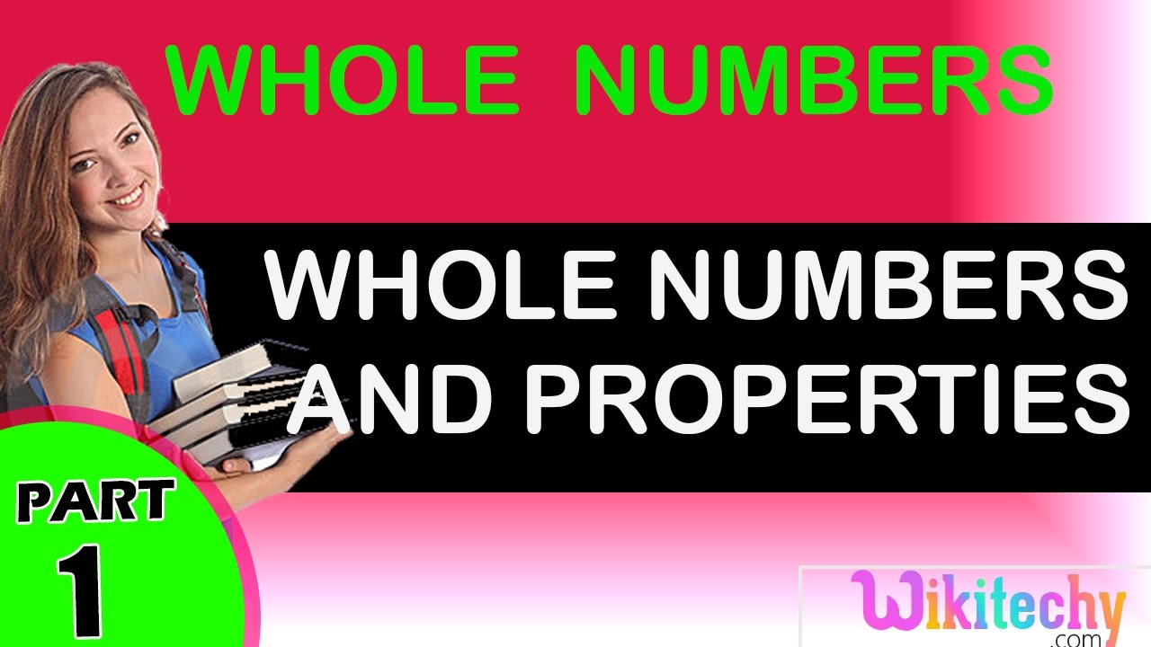 hight resolution of Whole Numbers And Properties maths class 1