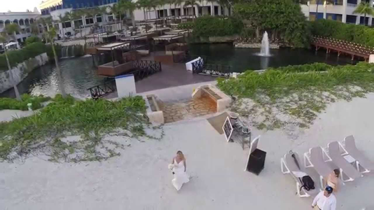 Hard Rock Riviera Maya Wedding: Drone Wedding Hard Rock Riviera Maya