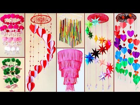 8 Wall Hanging Ideas !!! DIY Handmade Things || DIY Paper Craft