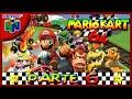 N64 l Mario Kart 64 l # 6 l WARIO l ¡¡¡ Copa Flor 150cc !!!