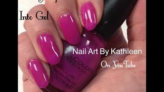 How To Turn Any Nail Polish Into Gel Polish
