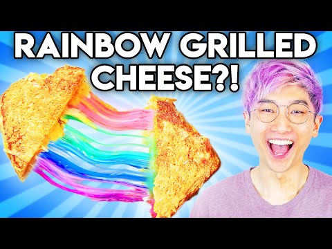 Can You Guess The Price Of These RAINBOW FOOD GADGETS!? (GAME)