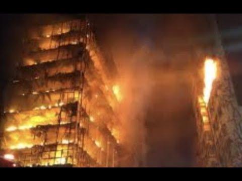 "Breaking ""Brazil Fire 26 Floor Building Collapsed 90 Mins"""