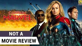 Captain Marvel | Not A Movie Review | Brie Larson | Samuel L. Jackson | Sucharita Tyagi