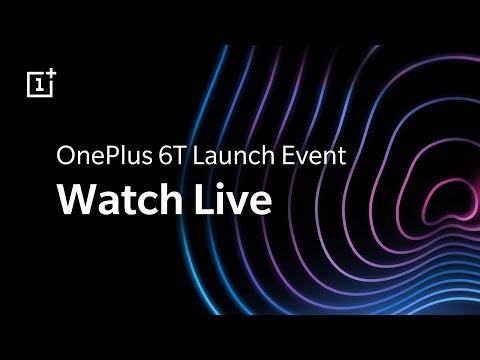 OnePlus 6T Launch Live Event