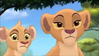 The Lion Guard Kiara,Zuly & Tiffu Clip