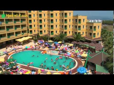 Hotel Esra Family Suite Altinkum Didim Turkey Youtube