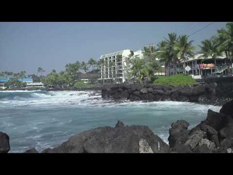 Big Island Hawaii. Part 5. Driving to Kailua-Kona.