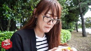 JAPONESA PRUEBA DULCES MEXICANOS POR PRIMERA VEZ