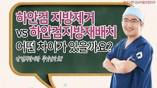 [부산성형외과] 하안검 지방재배치와 지방제거의 차이점은…
